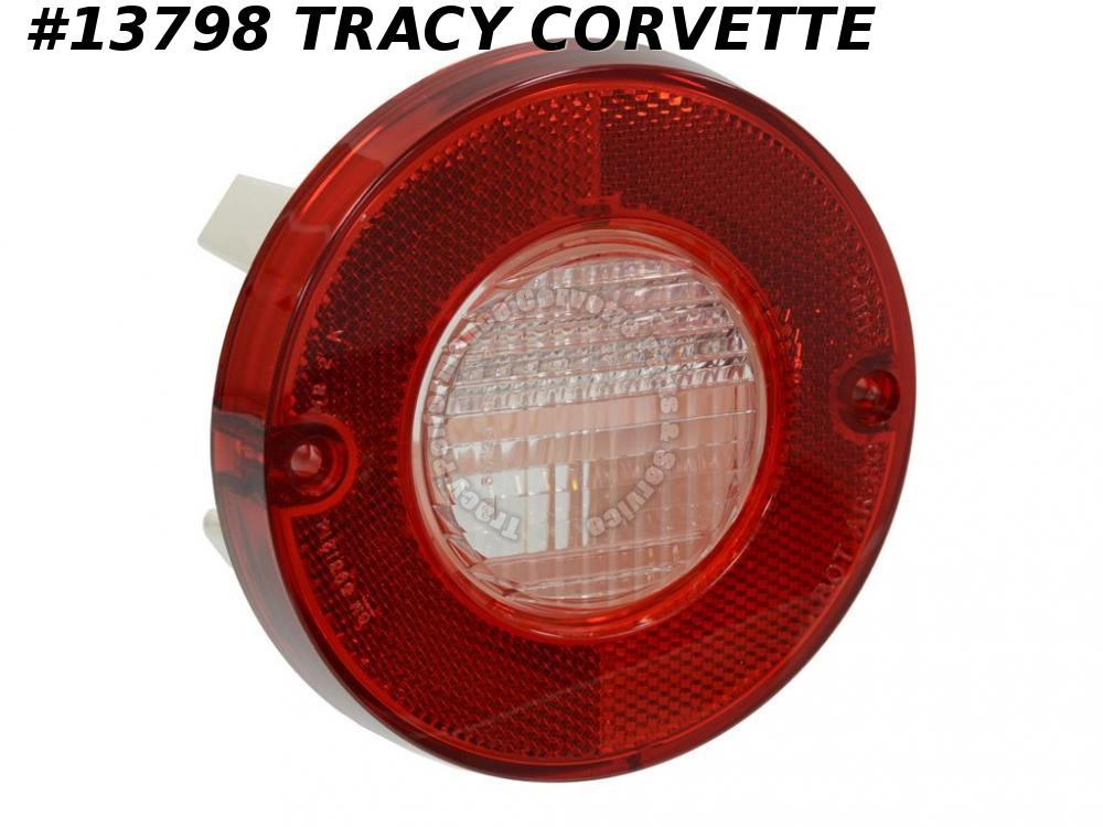 1980-1982 Corvette Tail Light Assembly - With Back-up Lamp GM# 914037