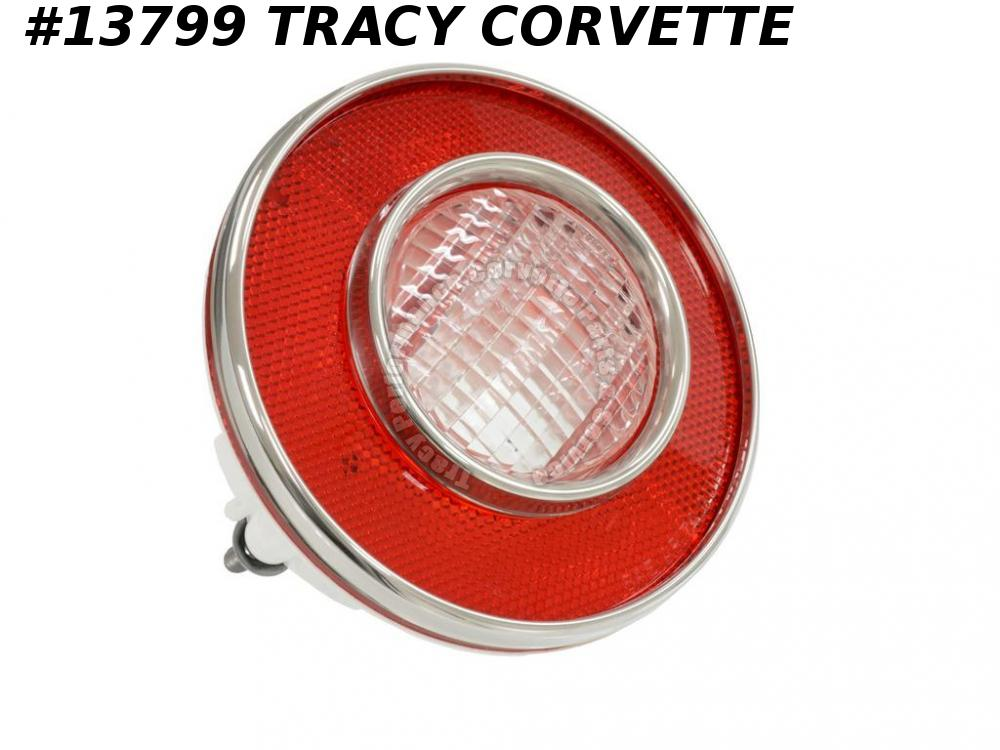 1974 Corvette Tail Light Assembly w/ Back-up GM# 897169 from Original GM Tooling