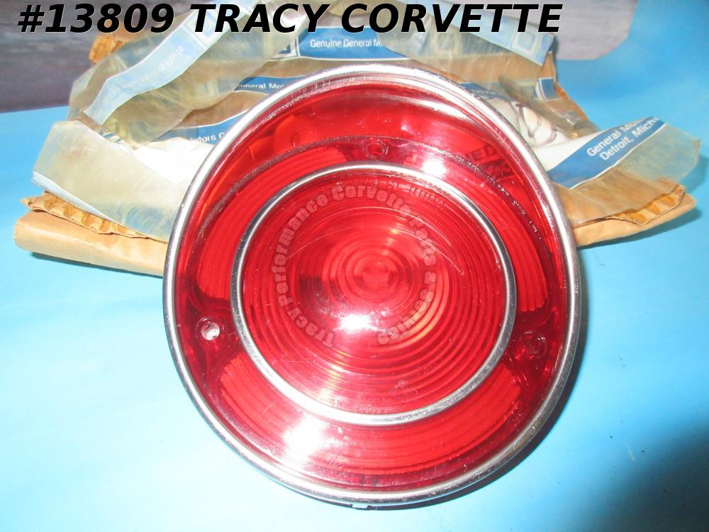 1971-1973 Corvette Tail Light Lens GM#5963332 5963342 - NOS GM Original