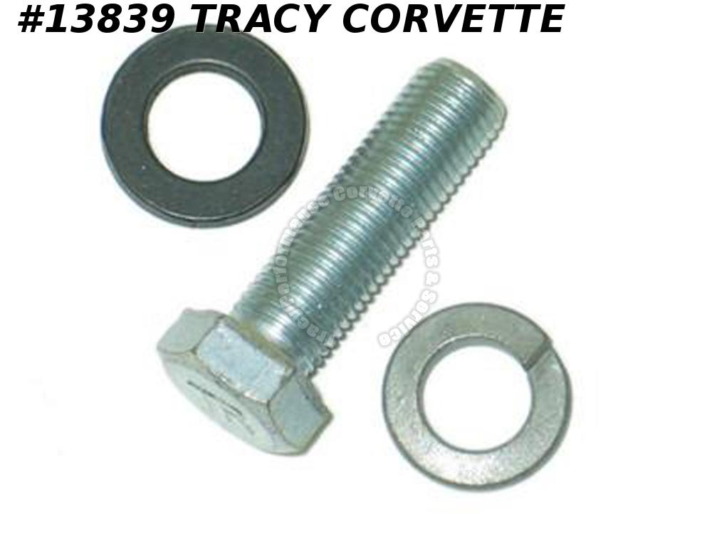 1963-1972 Corvette Air Conditioning Bolt & washers - Compressor Fitting
