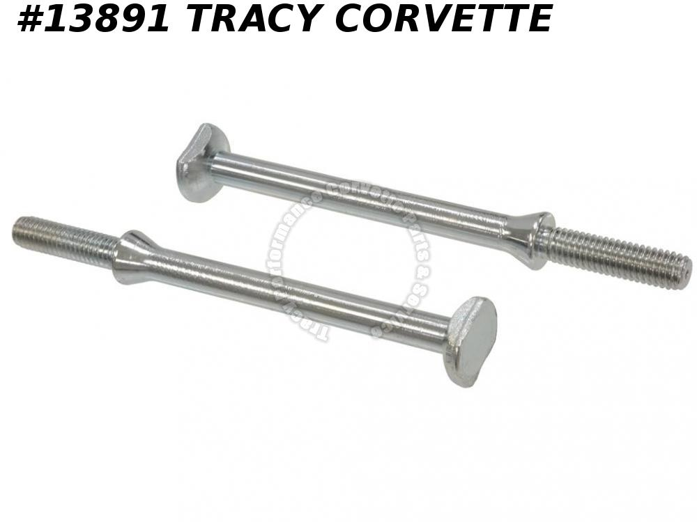 1968-1979 Corvette Spare Tire Carrier Front Hanger Bolt - Set Of 2   GM# 3956389