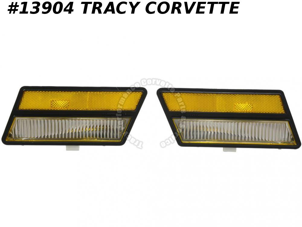 1980-1982 Corvette Front Cornering Marker Lamps - made from GM Original Tooling