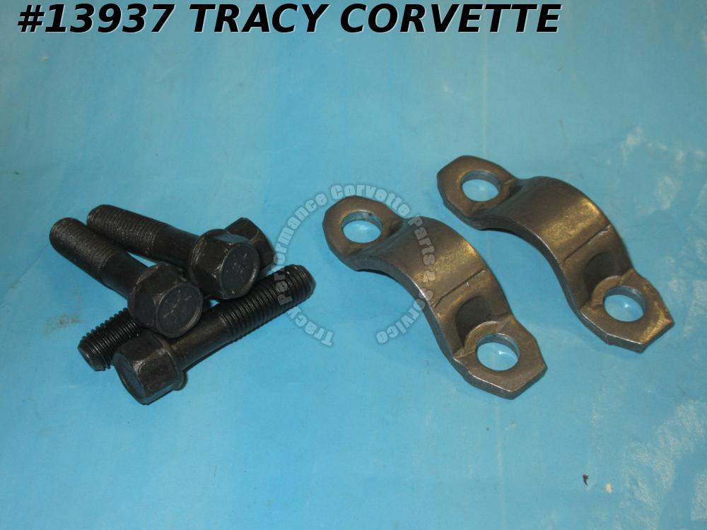 1968-1980 Corvette Drive Shaft U Joint Retainer Strap With Bolt 3882979