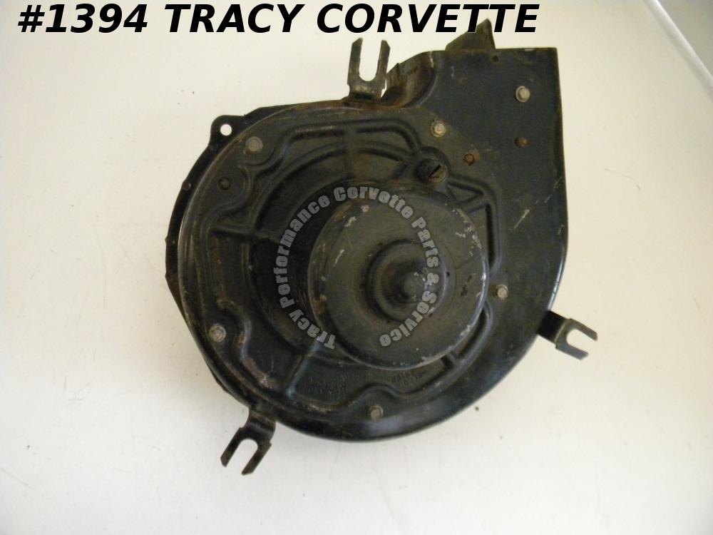 1964-1965 Corvette Used Original 3000734 Rear Blower Motor Fan Assembly 64 65