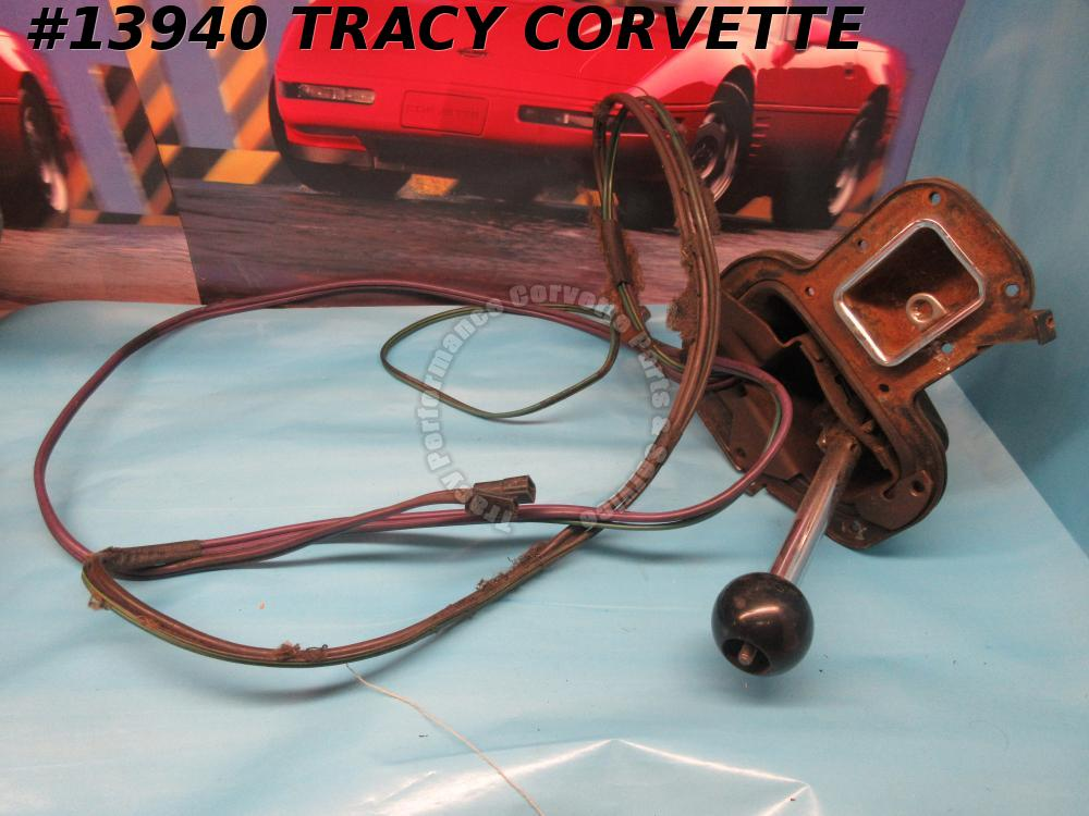 1965-1967 Corvette Shifter Assembly Automatic w/ pwr cable Shifter Survivor 1966