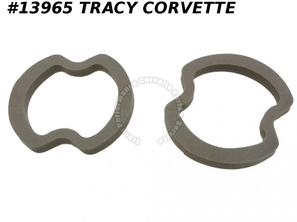 1968-1969 Corvette Parking / Turn Signal Light Lens Gasket - Front