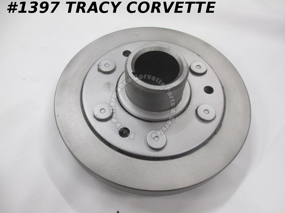 "1957-1961 Chevy Corvette Used Original 3760584 6"" Crank Harmonic Balancer Damper"
