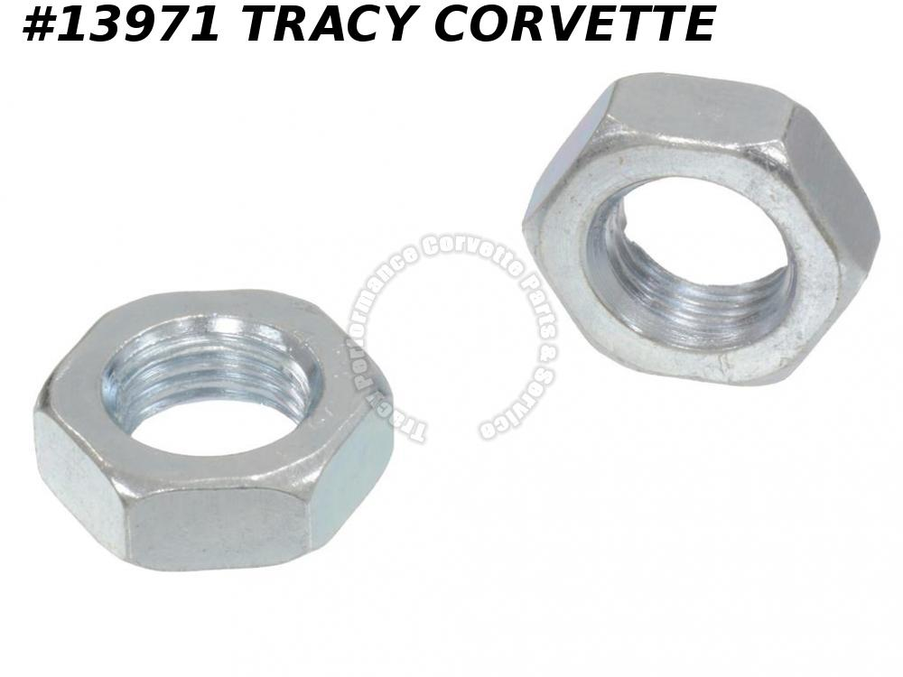 1956-1975 Corvette Hardtop Anchor Jamb Nut - 2 Pieces
