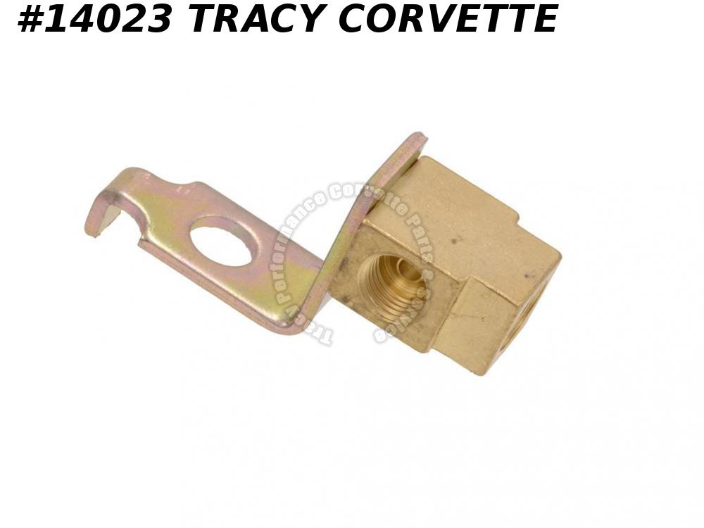 1965-1968 Corvette Power Brake  Front Line Block - Left Front