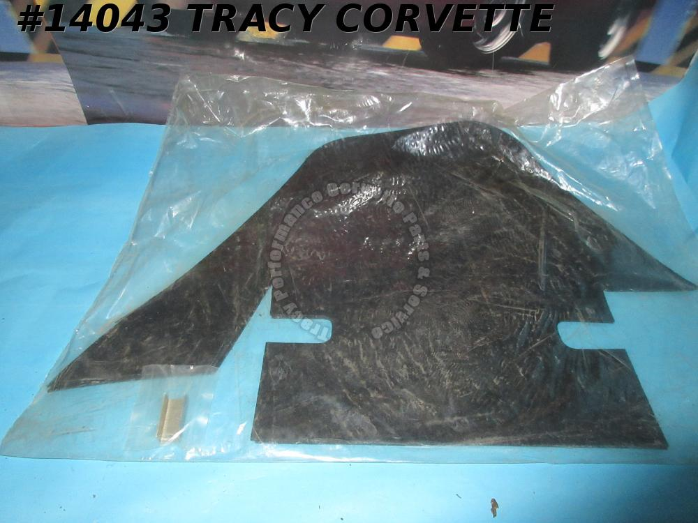 1968 Corvette A-Arm Dust Covers with Stainless Steel Staples 68Early