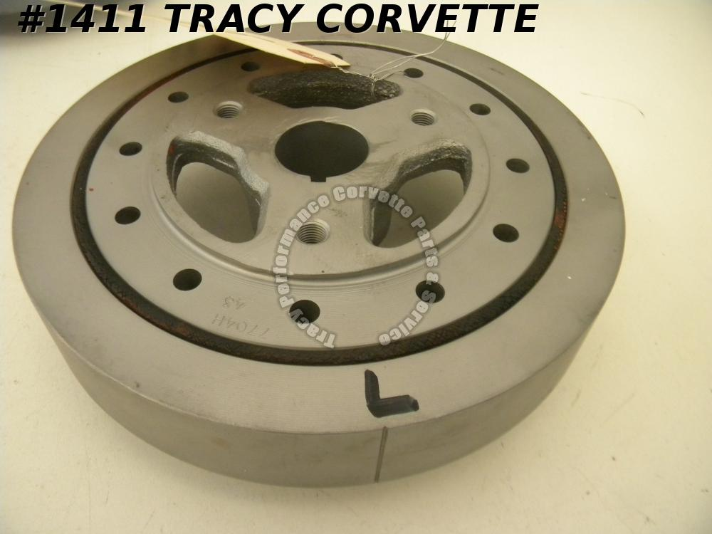 "1969-1982 Chevy & Corvette Used Original 3896966 350 C.I.D. 8"" Harmonic Balancer"