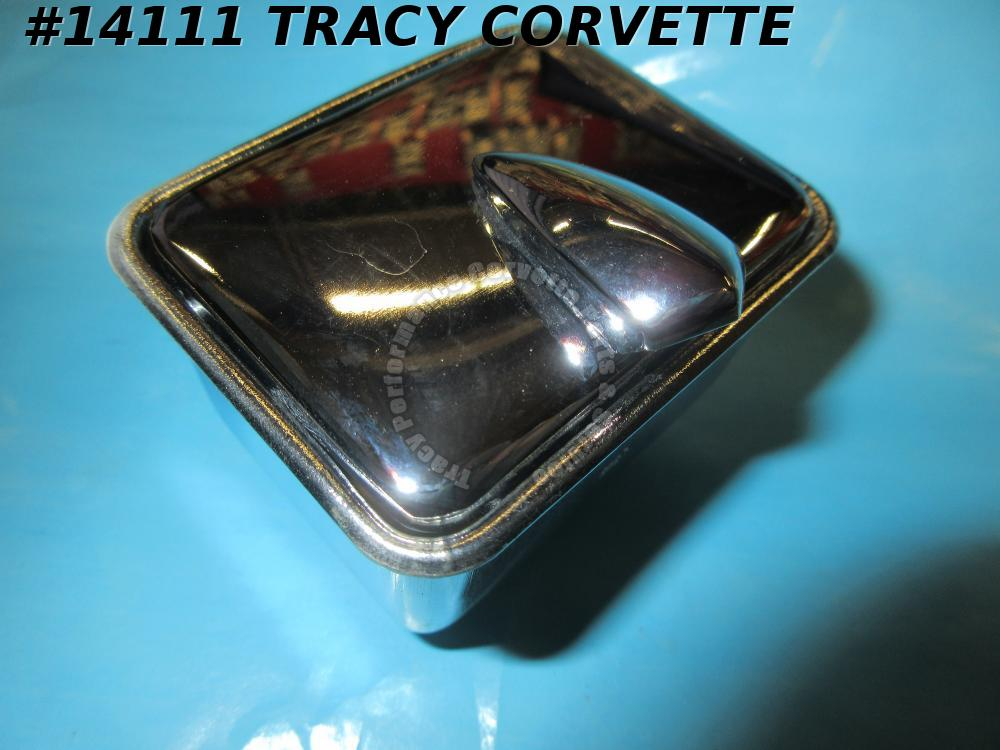1960-1962 Corvette Ashtray with Lid & Correct Knob