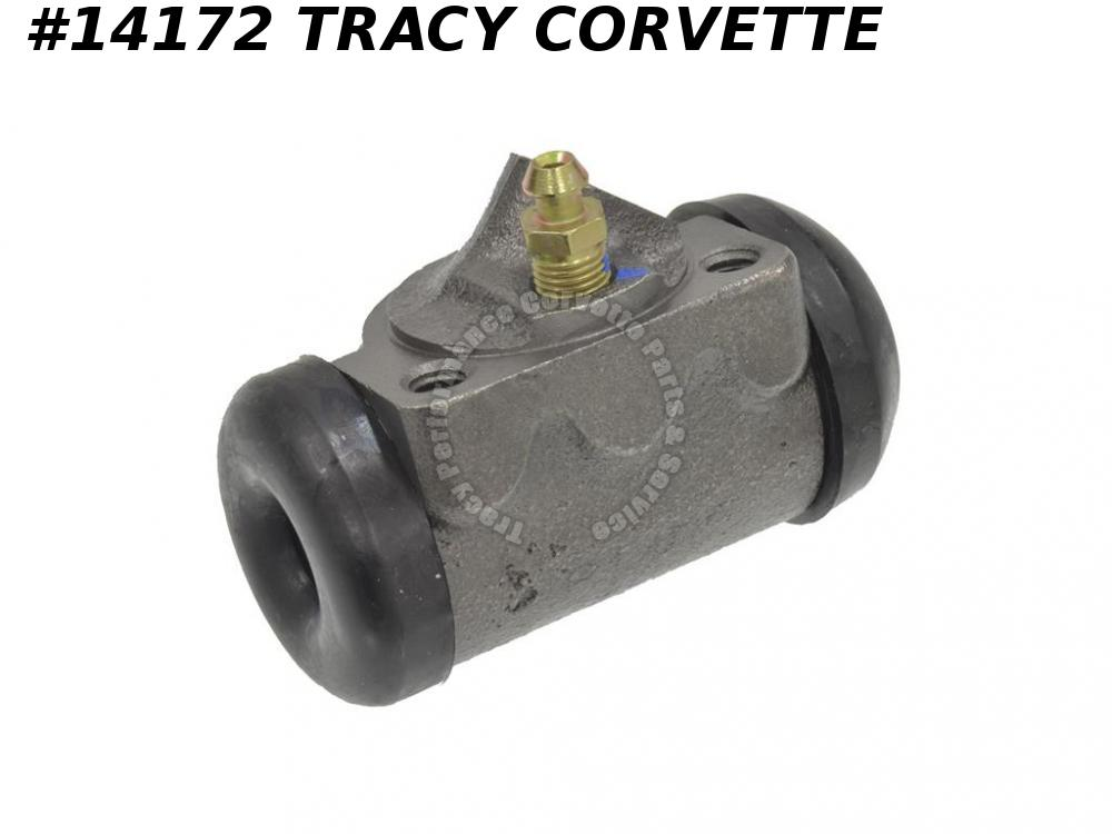 "1953-1962 Corvette Brake Wheel Cylinder - All Front 1 1/8"" Left GM# 5453821"