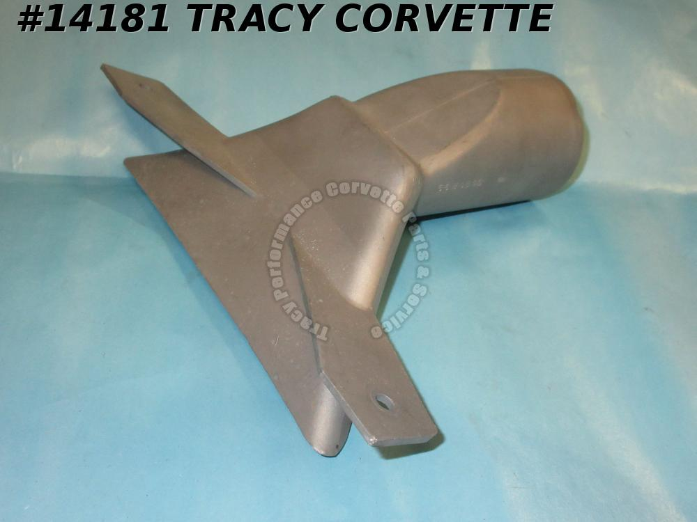 1963-1982 Corvette Rear Body Mount Access Covers 3797373 by Rear Wheel w/ Screws