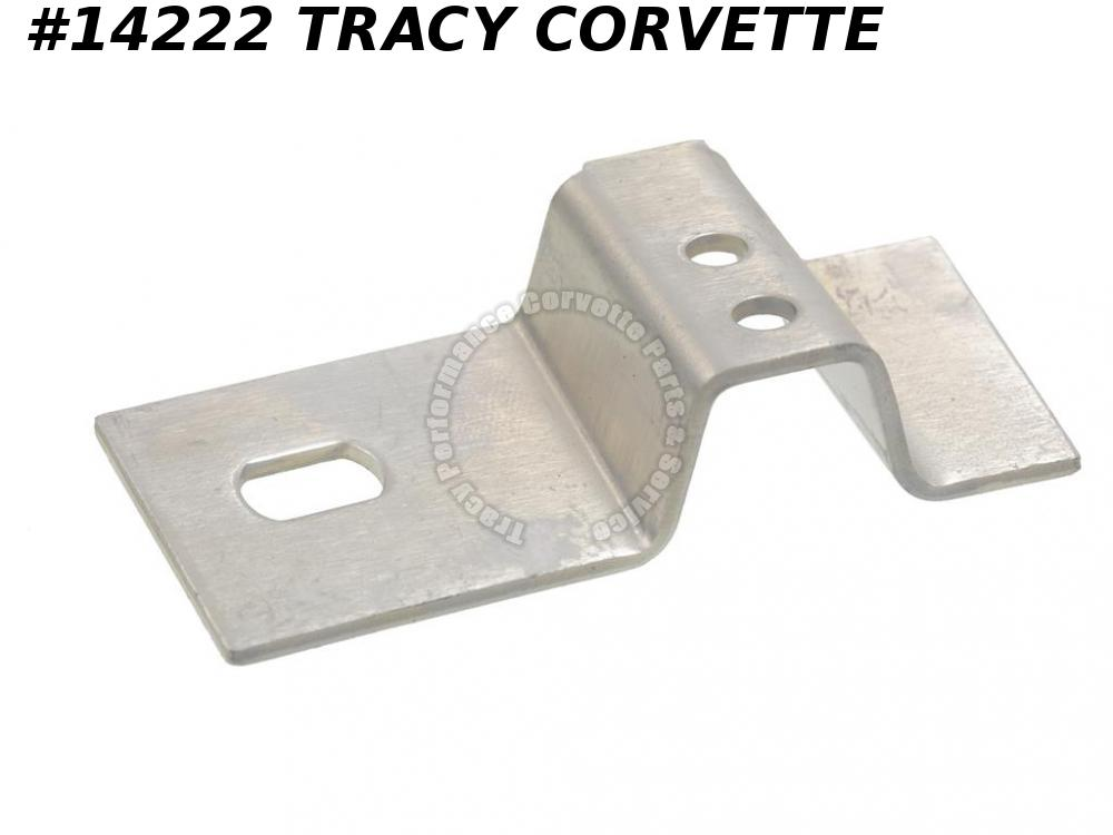 1956-1960 Corvette Seat Track Mount Bracket - Front Inner On Track Right