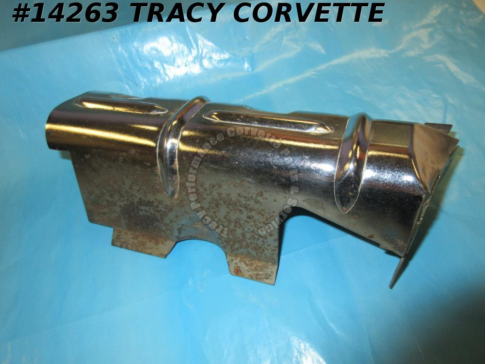 1968-1970 Corvette Ignition Shield Right Front Lower Early 70 GM# 3934218  *NOS*