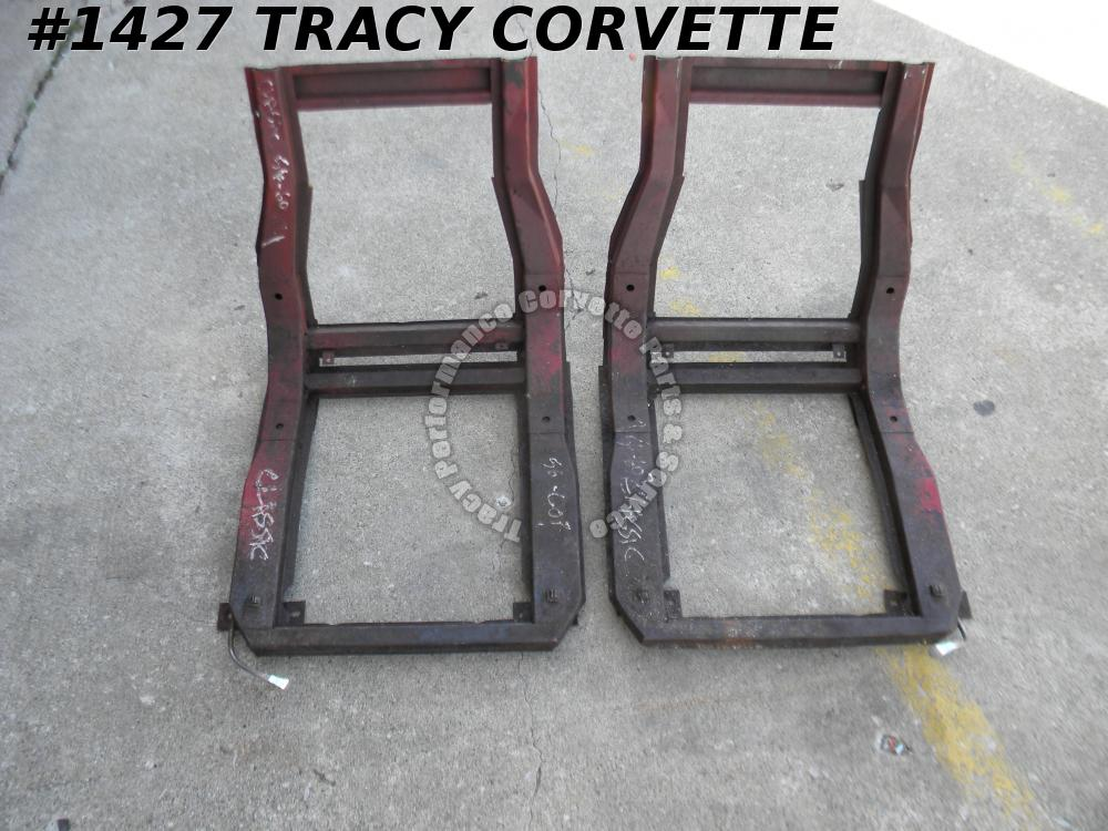 1956-1960 Corvette Used Original Seat Frames w/Tracks/Pr 56 1957 57 1958 1959 60
