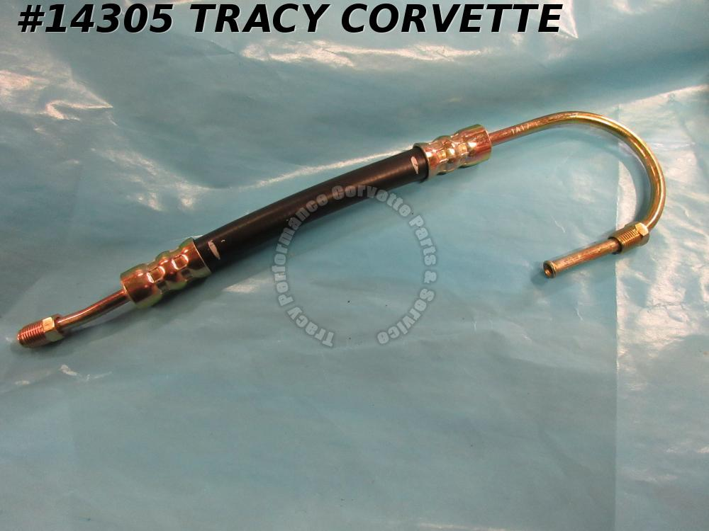 1963-1982 Corvette Power Steering Cylinder Hose To Extend GM# 3826275 small turn