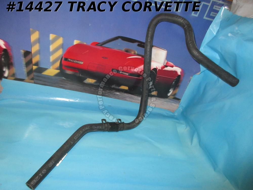 1993-1996 Corvette Water Pump - Bottom To Heater Box Heater Hose GM# 10157913