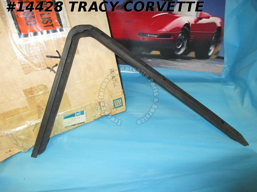 1968-1975 Corvette Weatherstrip Hardtop Side Rail Upper and Rear GM# 3964136