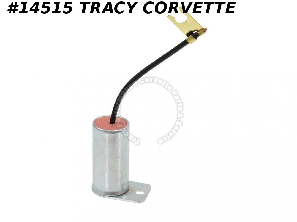 1966-1967 Corvette Coil Capacitor 327 With Bracket Correct GM# 1960958