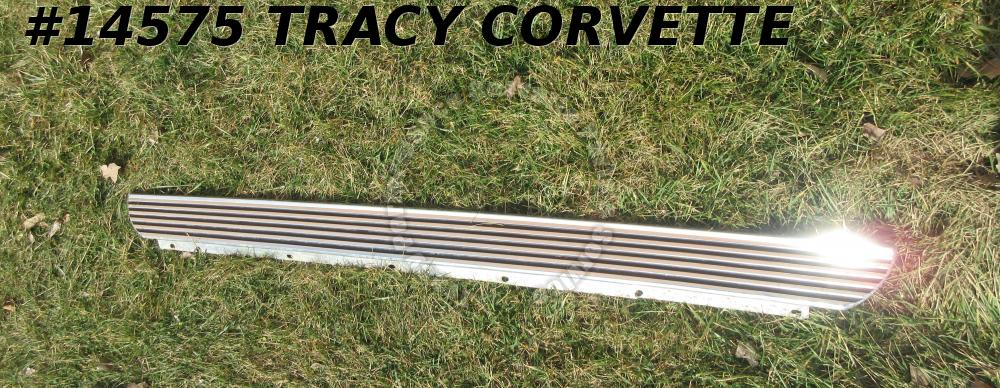 1962 Corvette Rocker Panel Moldings GM# 3820541 3820542 Used Originals for Pair2