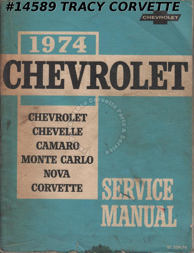 1974 Chevrolet Passenger Car Service Manual