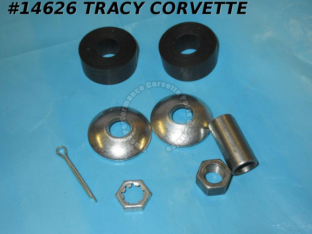 1963-1982 Corvette Power Steering Cylinder End Mount Set - Slave Cylinder Repair