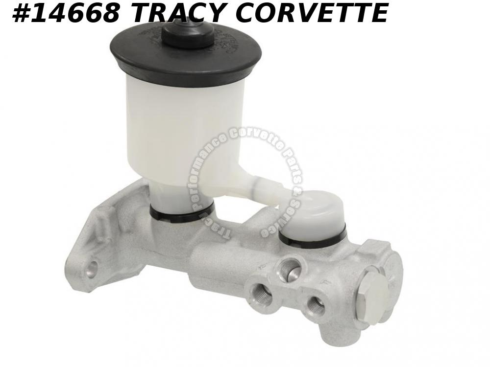 1986-1987 Corvette Master Cylinder GM# 10052280 New  w/ Single Reservoir