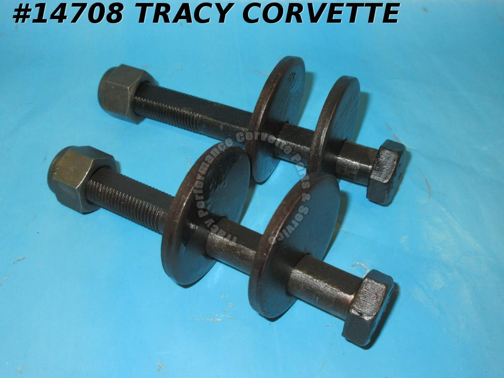 1984-1996 Corvette Rear Camber Rod Adjustment Bolt Kit - Replacement