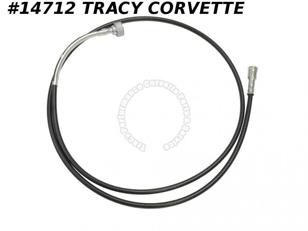 1978-1982 Corvette Speedometer Cable GM# 6480075 4 speed w/o Cruise Control 72""