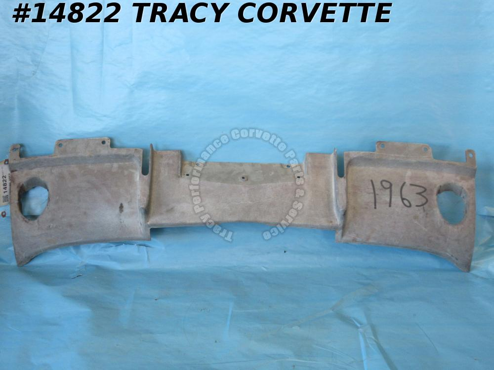 1963 Corvette Filler Panel GM# 3797190 Rear Exhaust Valance w/o Bonding Strips 0
