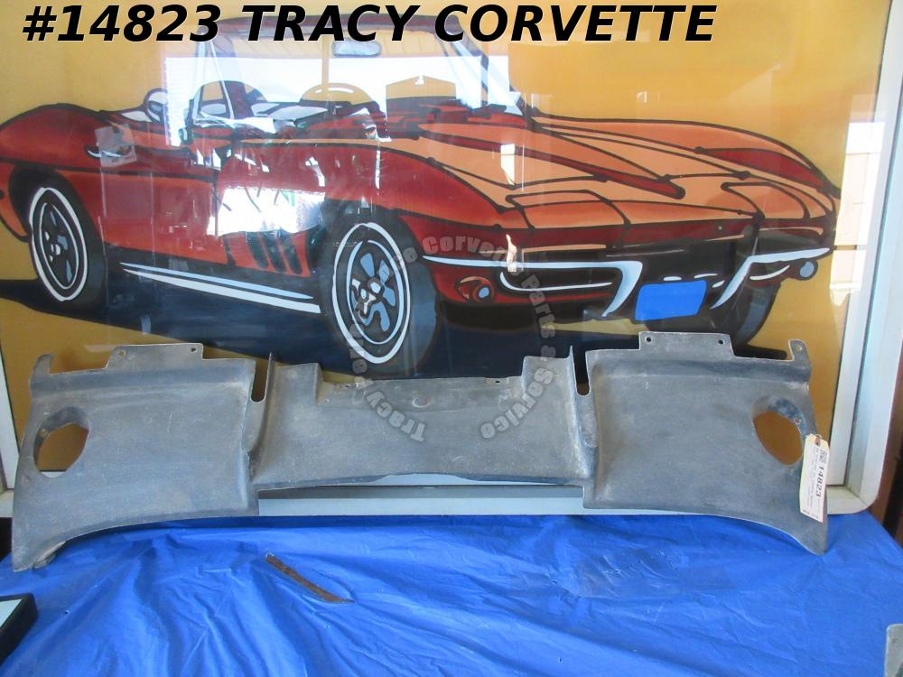 1963 Corvette Filler Panel GM# 3797190 w/Bonding Strips Rear Under car Exhaust