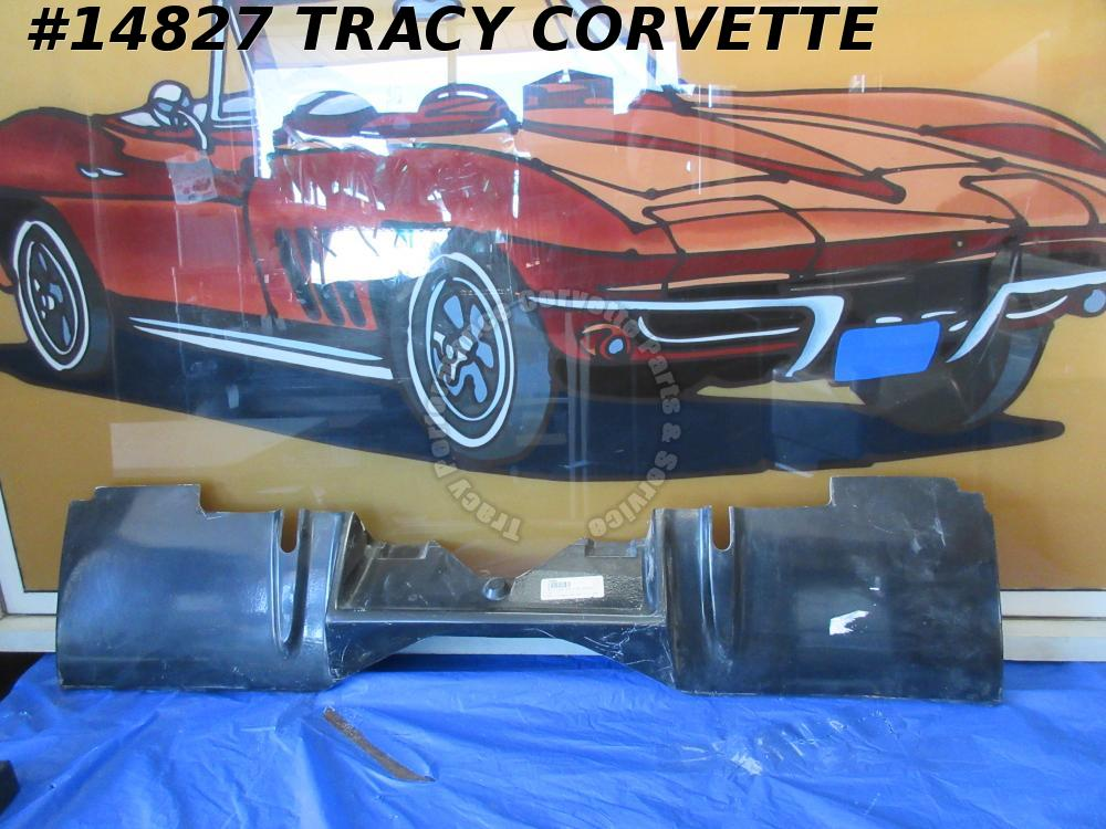 1969-1973 Corvette Filler Panel GM# 3948133 rear valance w/ Side Exhaust