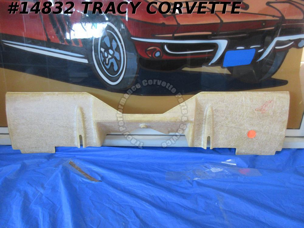 1969-1973 Corvette Filler Panel GM# 3948133 Rear valance C3 with Side Exhaust