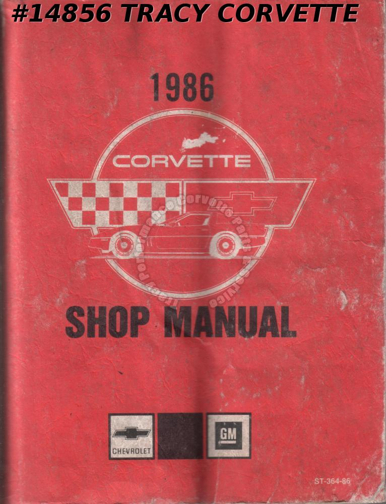 1986 Chevrolet Corvette Shop Manual