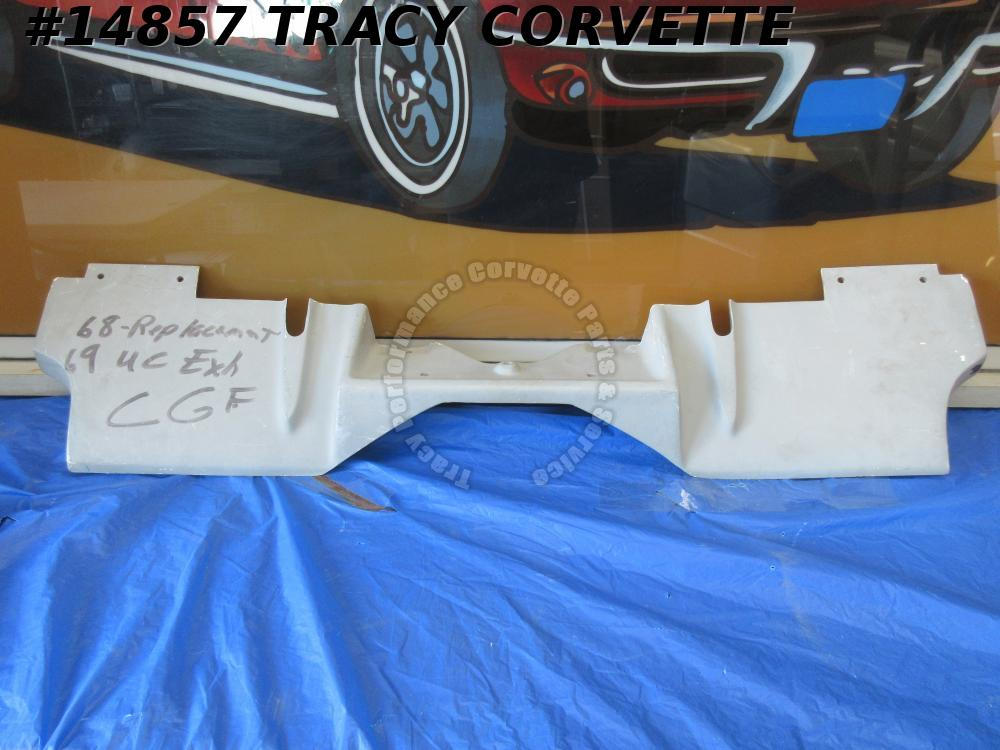 1969 Corvette Filler Panel GM# 3947974 w/ Rear Exhaust HLU Fiberglass InStock