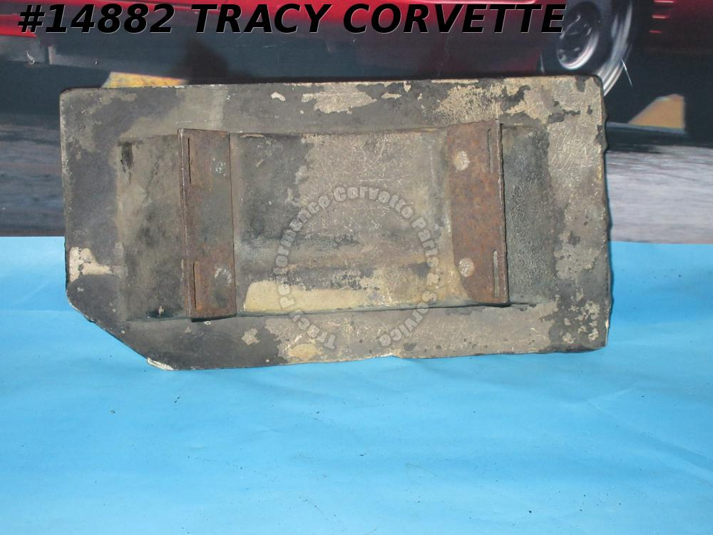 1963 Corvette Expansion Tank Bracket Assembly GM# 3824800 Mount On Inner Fender