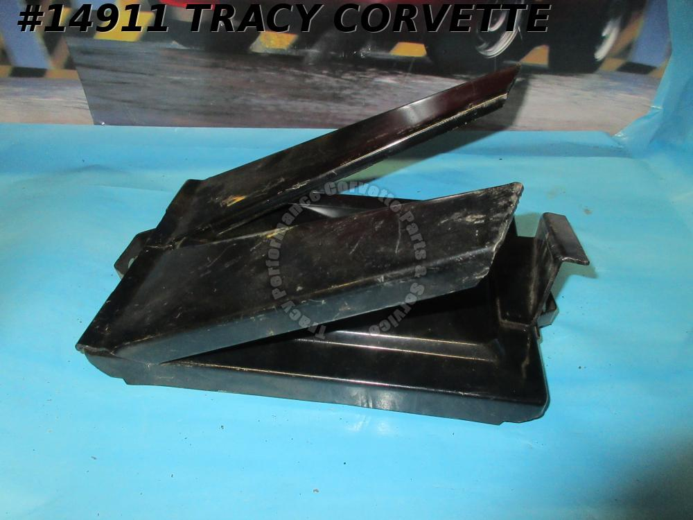 1955-1962 Corvette Battery Tray With Legs GM# 3715404  Replacement Version