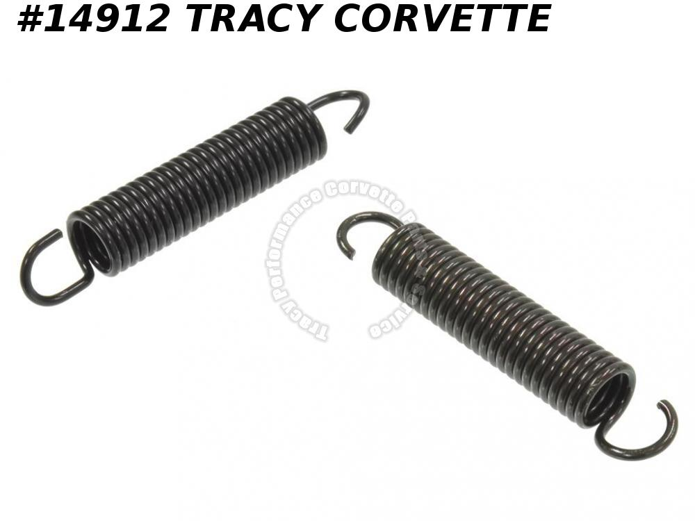 1959-1976 Corvette Hood Lock / Latch Tension Spring - Female - 1959 Late 3841439