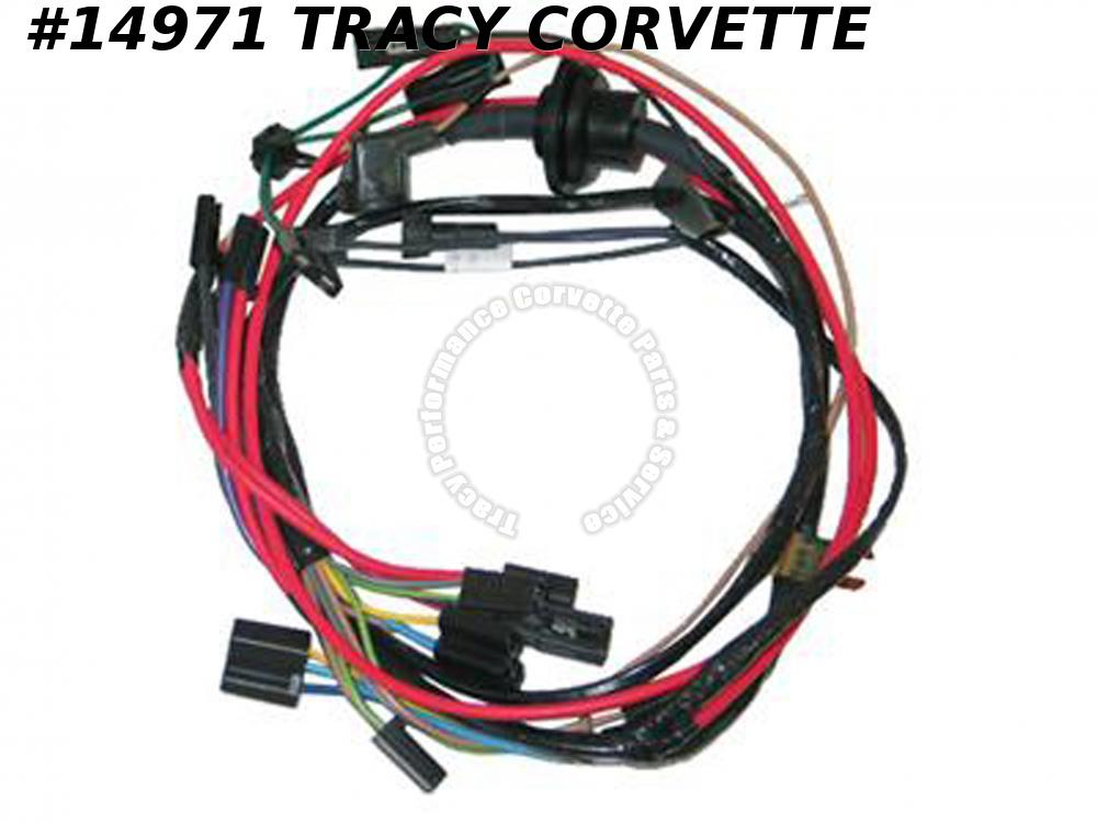 1976 Corvette Air Conditioning Wire Harness