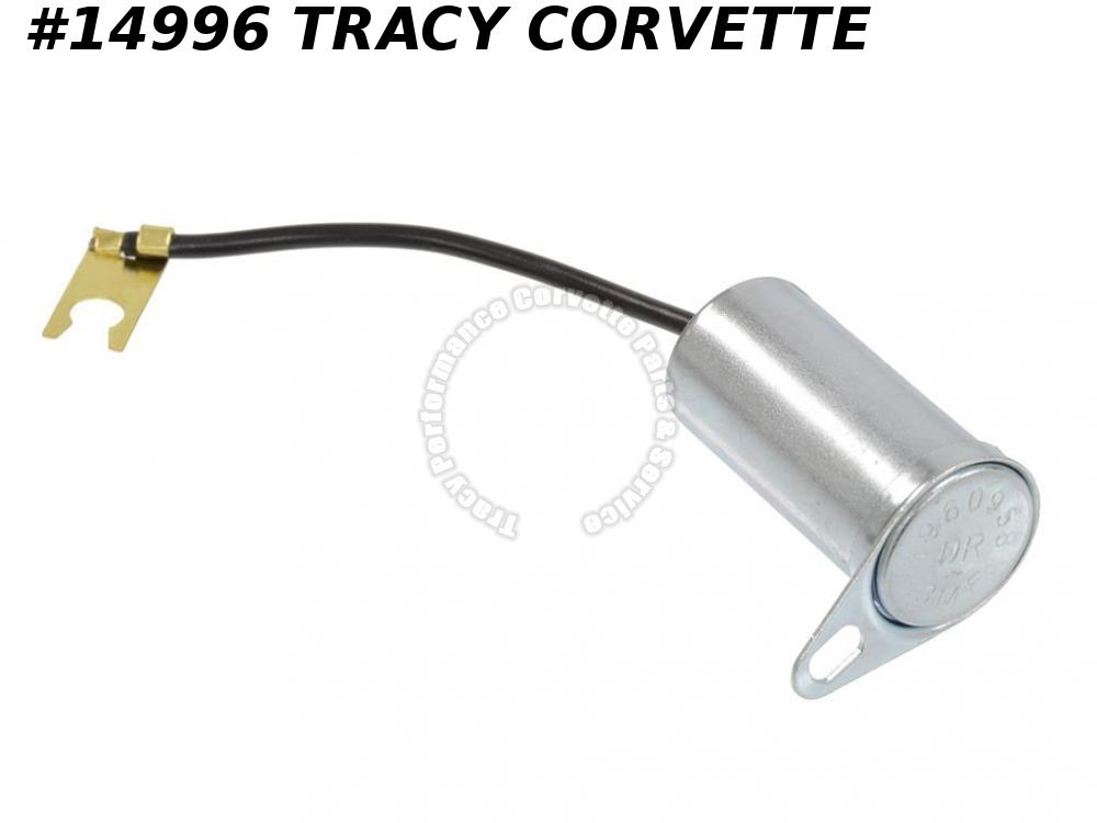 1963-1967 Corvette Coil Capacitor 327 w/ Bracket GM# 1960958 Replacement version