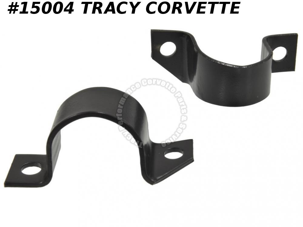 1953-1957 Corvette License Bumper / Bumperette Support - Front U Bracket
