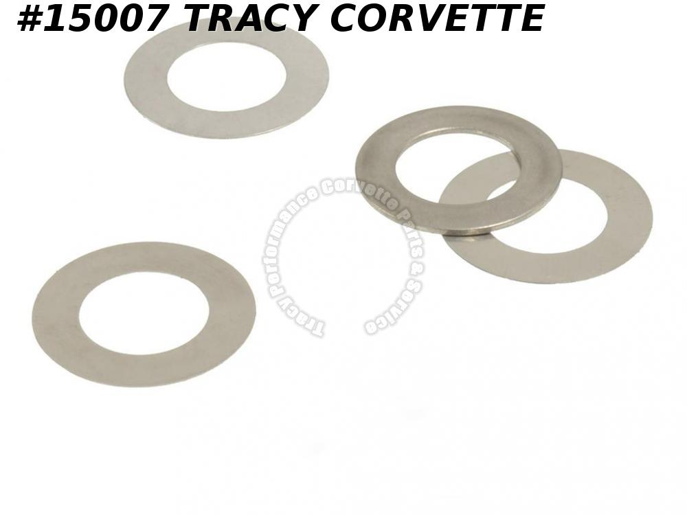 1955-1974 Chevrolet Distributor Lower Gear Shim Kit - 4 Pieces Fits all Chevy V8