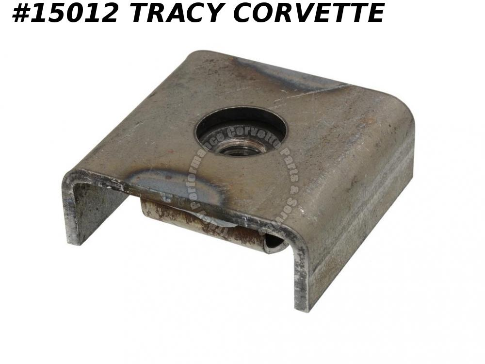 1968-1974 Early Corvette Body Mount Welds On Frame With Cage And Nut, C3 #2 & #3
