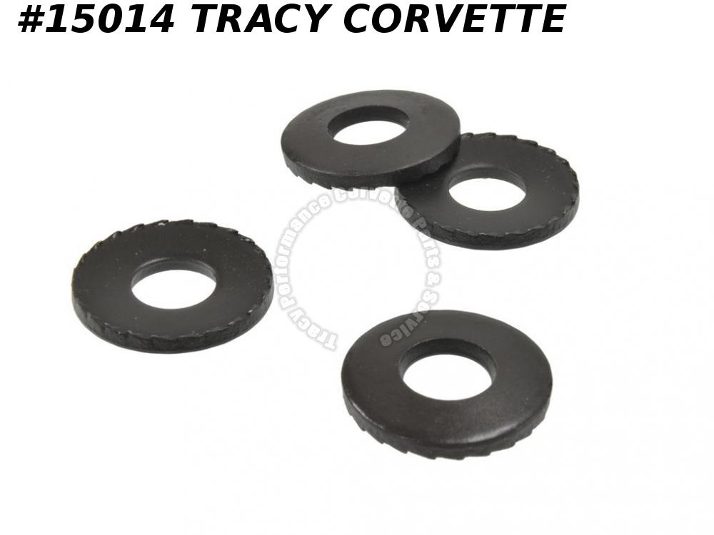 "1968-1982 Corvette Bumper Bracket Serrated 9/16"" ID Washer  GM# 1362249 Set Of 4"