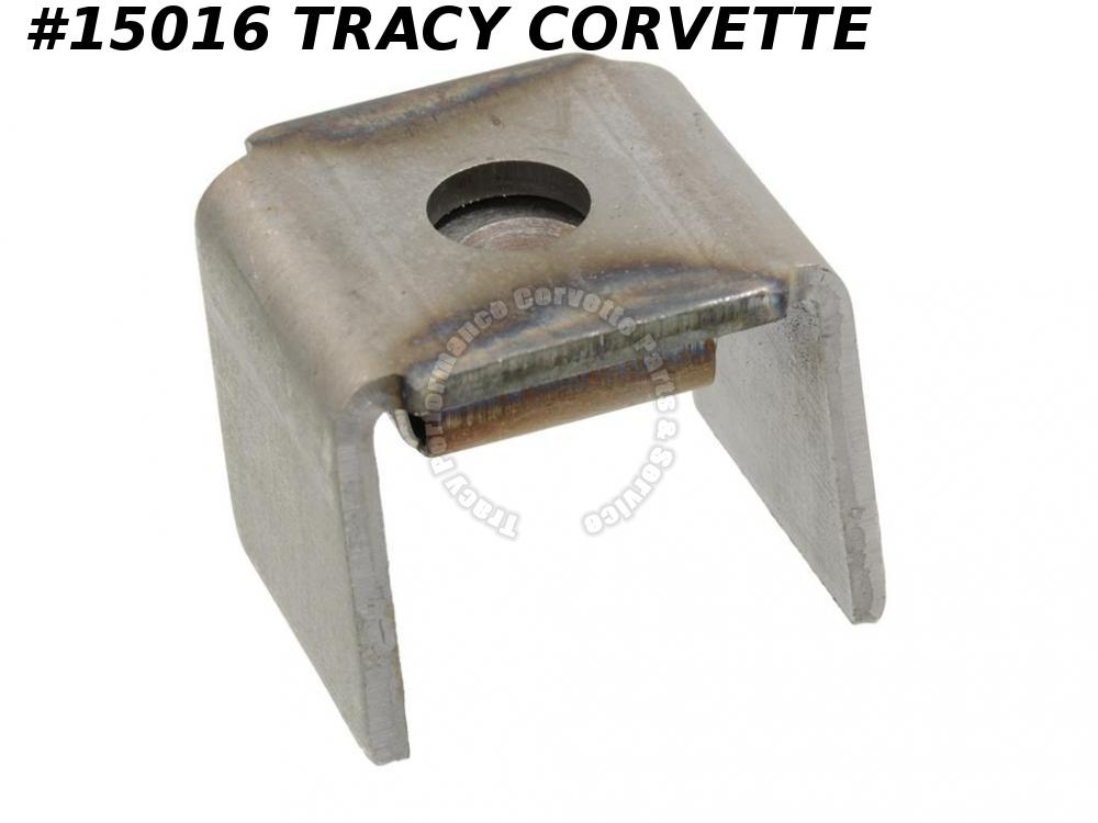 1964-1967 Corvette Body Mount Bracket - #3 On Frame With Nut