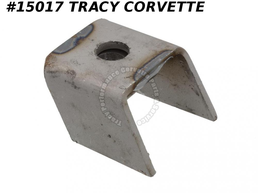 1964-1967 Corvette Convertible Body Mount Bracket - #2 & #3 On Frame With Nut