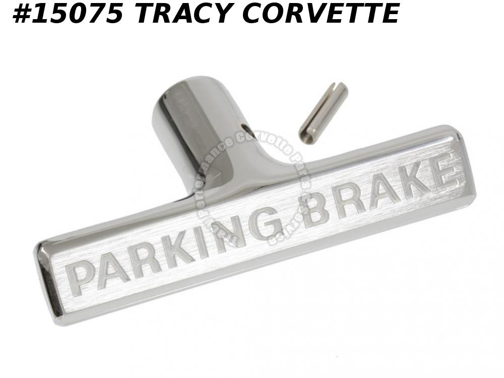 1963 Corvette Parking Emergency Brake Handle