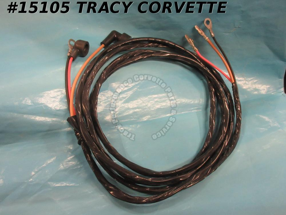 1966-1967 Corvette Fuel Tank Sender Wire Harness W/36 Gallon Big Tank ONLY!